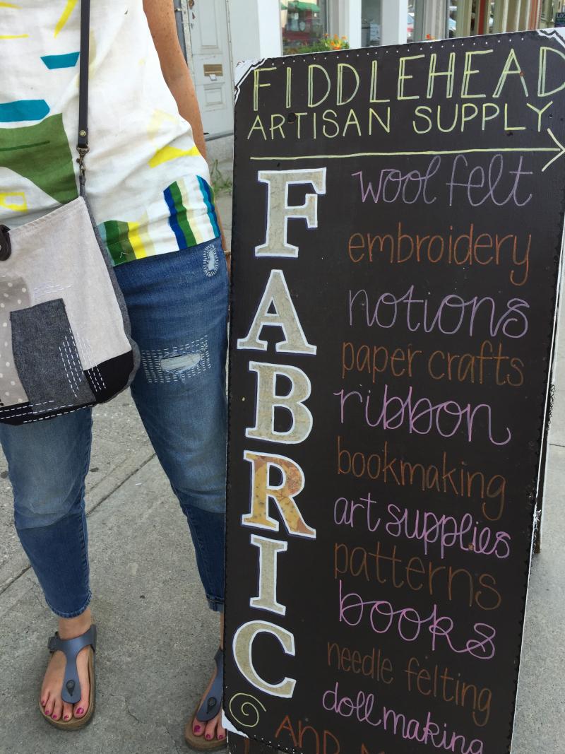 32. Shopping at Fiddlehead Artisan Supply